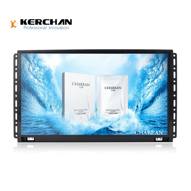 Button Activated 15.6 inch Open Frame TV  Out Port USB Video Player Advertising Displayer Showing Machine Display