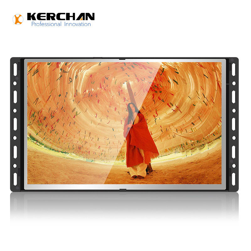 10 inch open frame wall mount android6.0 O.S lcd monitor which easy for integrated into POP displays